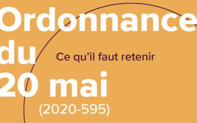 ORDONNANCE DU 20 MAI 2020 (2020-595)