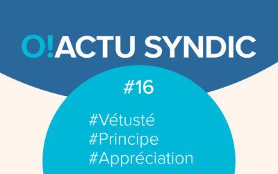 O ! Syndic #16 – VETUSTÉ : PRINCIPE ET APPRÉCIATION