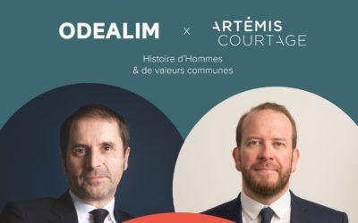 Odealim acquiert Artémis courtage pour bâtir ensemble le leader français du conseil en assurance et financement de projets immobiliers.