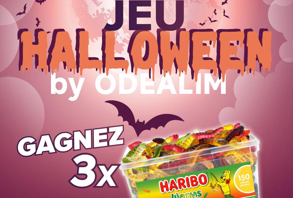 Le jeu d'Halloween Odealim